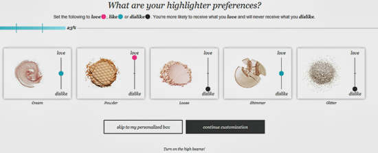 Wantable Highlighter Preferences