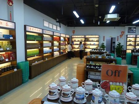 Shopping Shanghai: Magazin ceaiuri China