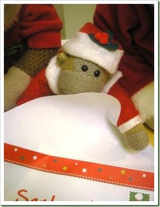 Letter to Santa 2011