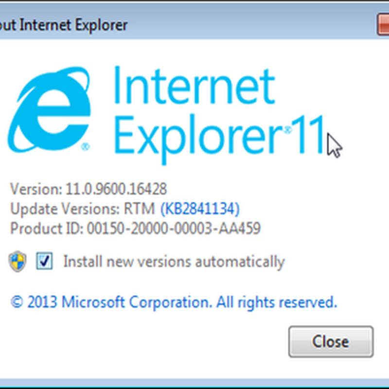 Internet Explorer 11 Download Failure To Launch