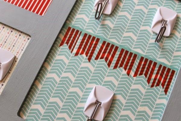 washi tape pennant