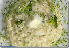 Risotto al blue stilton con broccoli
