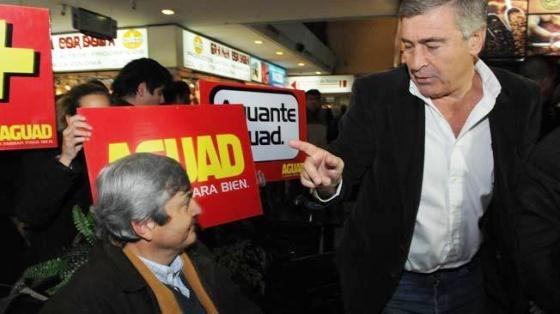 AGUAD Y ROULET. Candidato a gobernador y vice del radicalismo