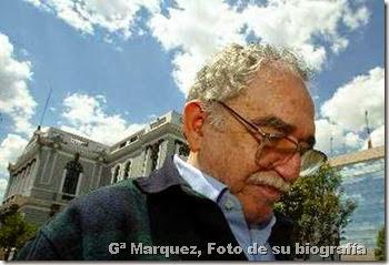 Gª Marquez, Foto de su biografía