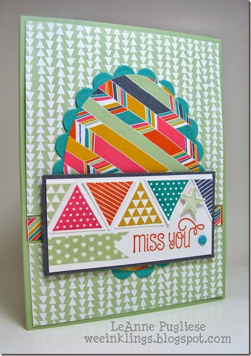 LeAnne Pugliese WeeInklings Geometrical Sweet Stuff Stampin Up