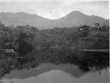 View of Gede-Pangrango from Cisarea (unknown photographer, 1928) Courtesy TropenMuseum Archives