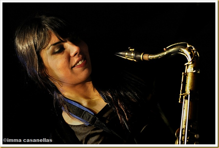 Melissa Aldana, Barcelona 2012