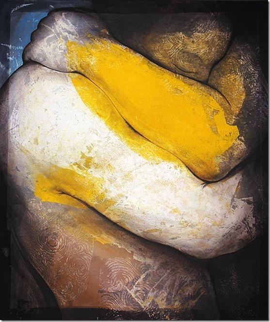 les appui jaune-Etienne Gros-ENKAUSTIKOS