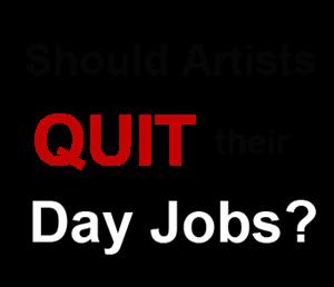 artist day jobs