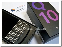 03 Коробка с BlackBerry Q10