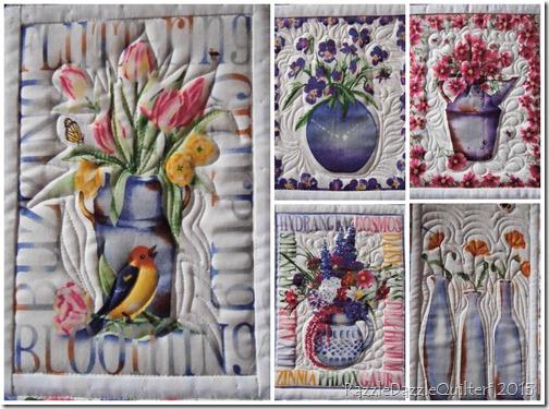 Julie's quilt Collage