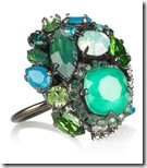 Erickson Beamon Swarovski Crystal Ring
