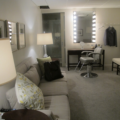 A glimpse into my dressing room at the Martha Stewart Show.