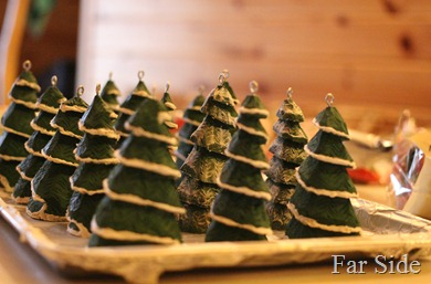 Pan of ornaments