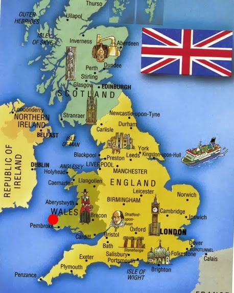 England-Cities-Area-Map St Davids