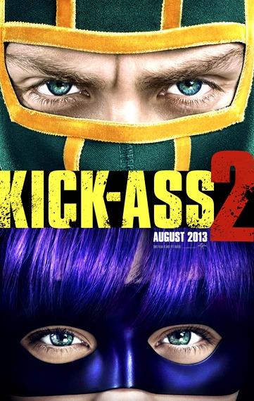 Poster oficial de Kick Ass 2