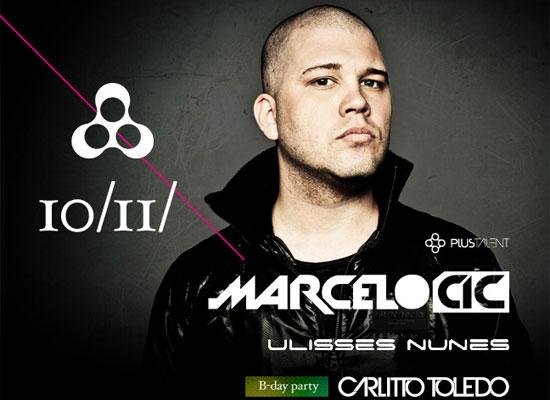 DJ Marcelo CIC na Anzu Club em Itu