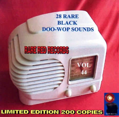 Rare Black Doo-Wop Sounds Vol. 44 - 29 - Front