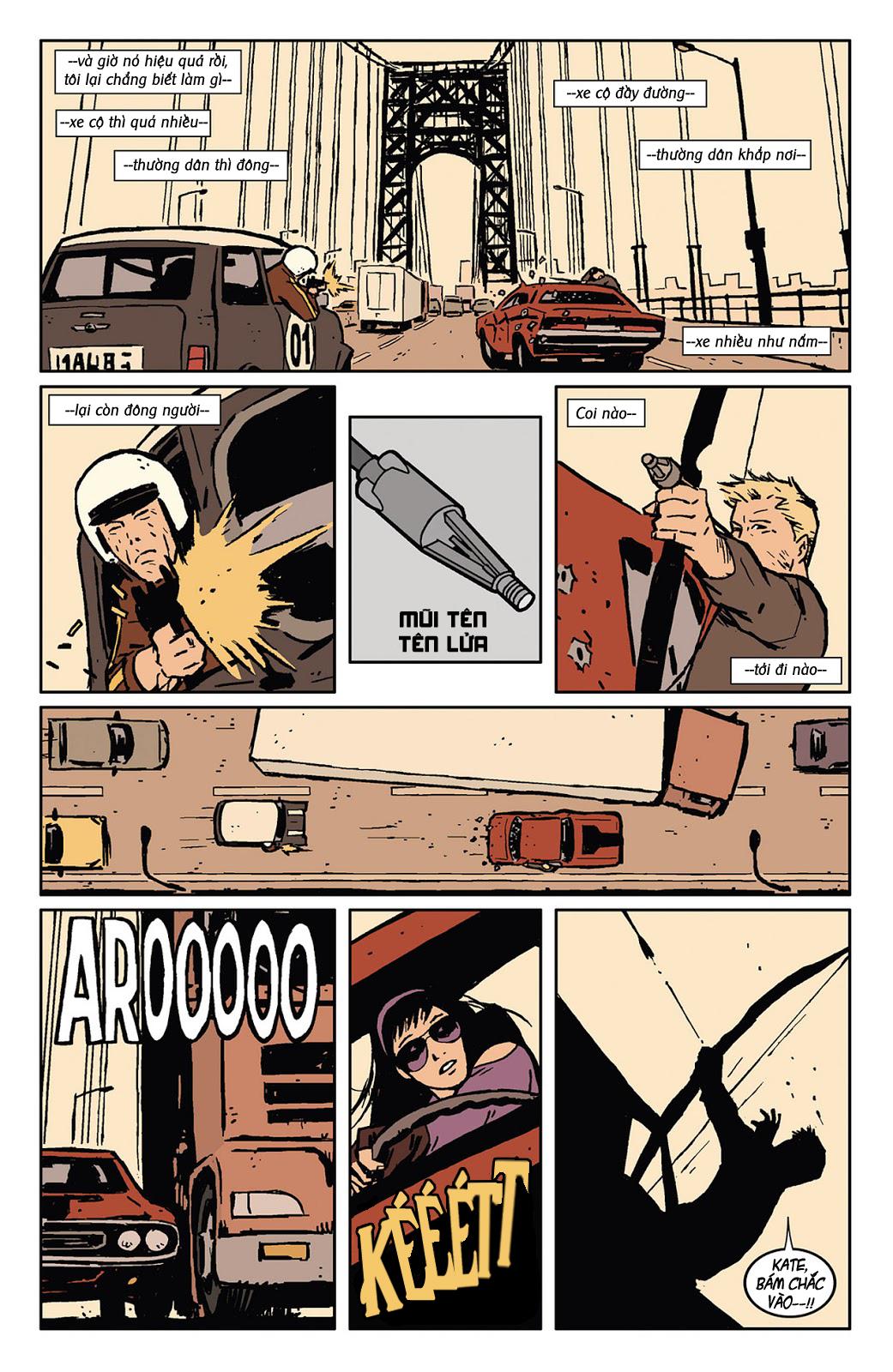 Hawkeye 2012 chap 3 - Trang 18