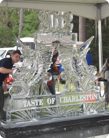 2012 Taste of Charleston Ice Sculpture
