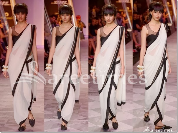 Tarun_Tahiliani_White_Georgette_Saree