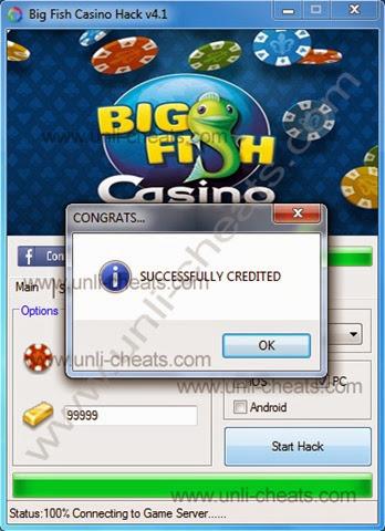 Big fish games casino hack