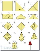 tulipan origami 2