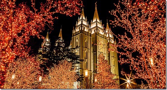 Christmas Temple Square