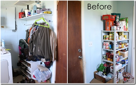 Glidden Paint Laundry Makeover