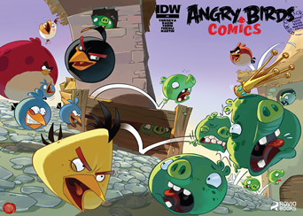 Actualización 01/04/2015: Angry Birds - Floyd Wayne y K0ala nos traen Angry Birds #09