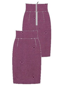 purple jenny skirt