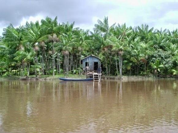 Casa sulla riva - Igarapé-Miri, Parà, foto di: Edio Nascimento