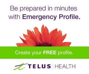Create Your Emergency Profile on TelusHealth