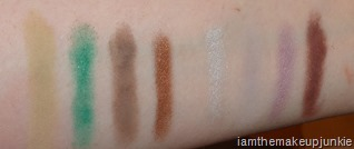 SEPHORA   Pantone Universe Elemental Energy Eye Shadow Palette_swatches 1