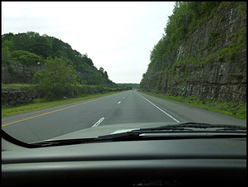 06 - Road Cut through the mountains