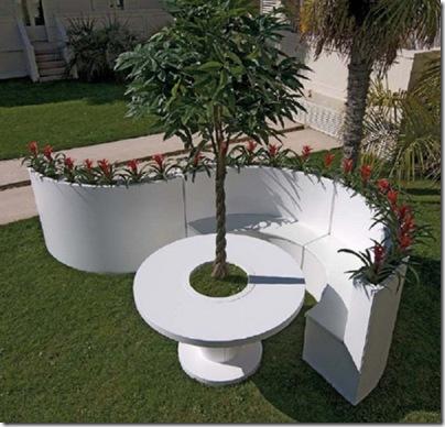 Déco: Un jardin moderne ♥