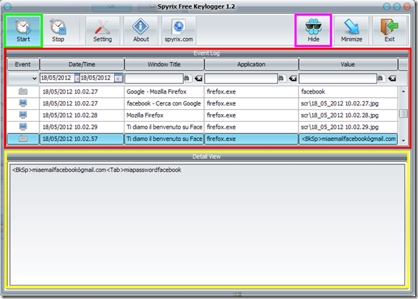 Spyrix Free Keylogger