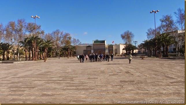 Plaza de los Alauitas y Palacio Real