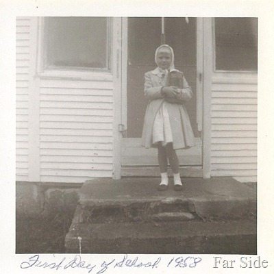 First day of school 1958 Second Grade