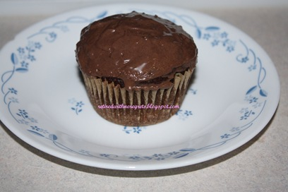 Carob Cupcakes - frosted cooled B