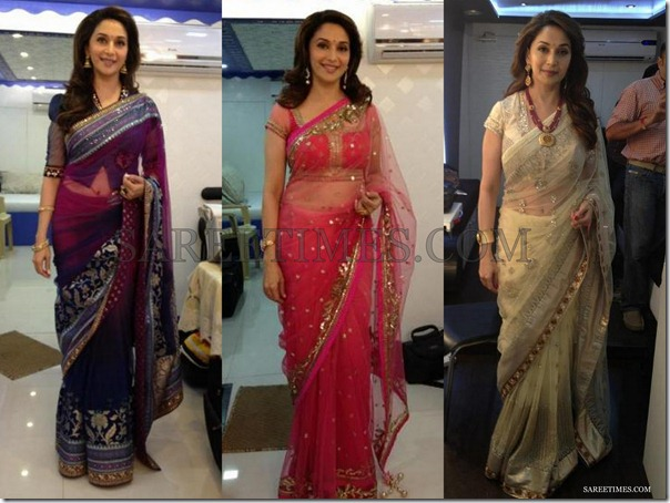 Madhuri_Dixit_Sarees