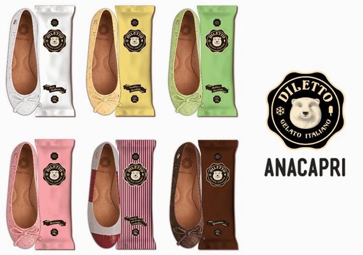 diletto anacapri sapatilhas colecao
