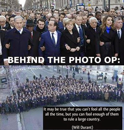 the photo-op