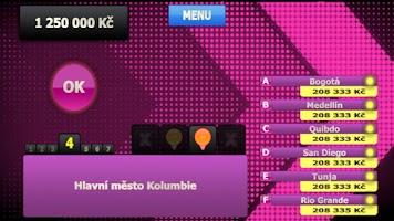 Screenshot of Vysoká Hra - Kviz