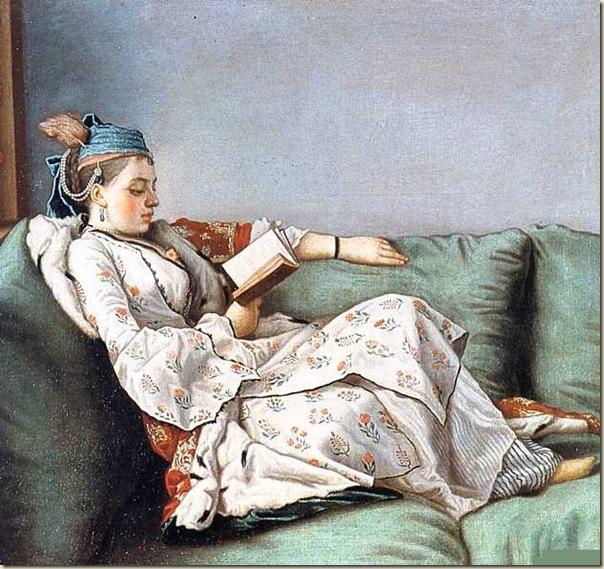 Liotard, Jeune femme en costume turc