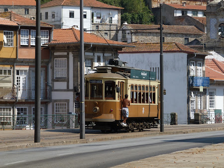 Old tram in Portugal