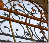 Ornate Window Grill