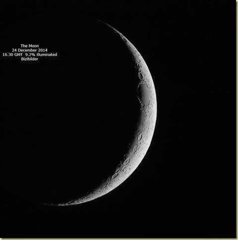 24 December 2014 Moon