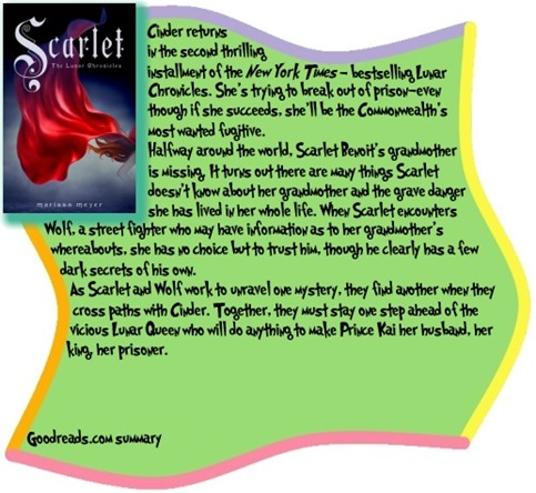 Scarlet by Marissa Meyer review at Reading With My Eyes Shut
