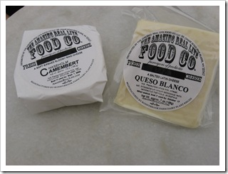 camembert and queso blanco